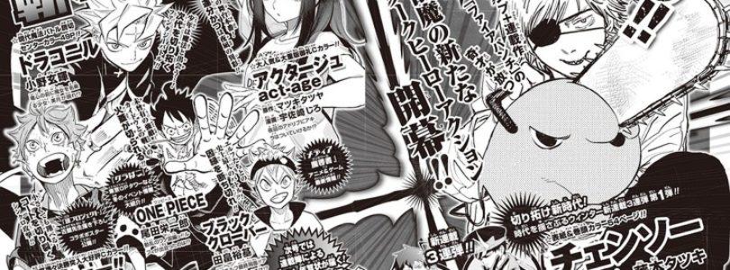 [NEWS] Shonen Jump lancia 3 nuovi manga