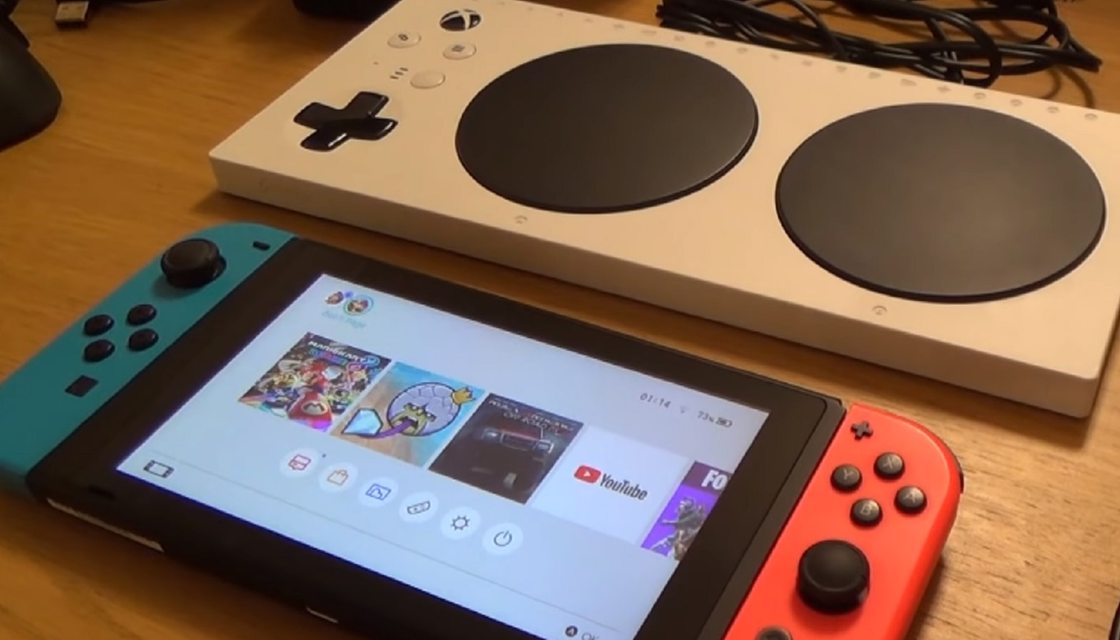Controller Adaptive switch
