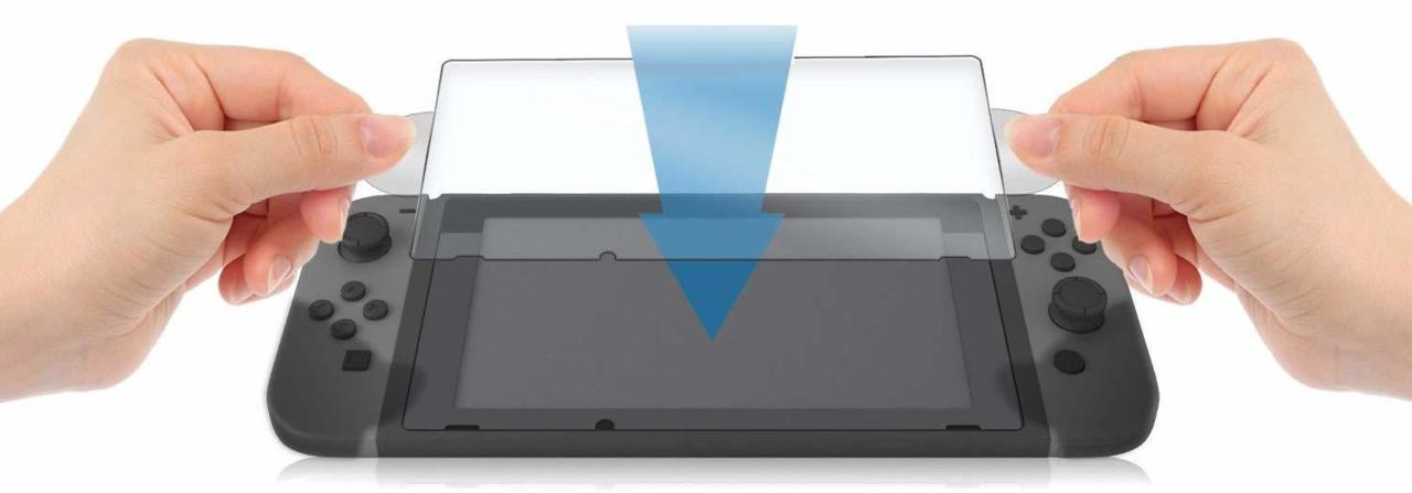 Proteggi schermo switch