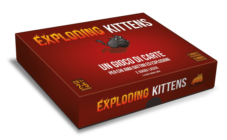 Giochi da tavolo per Natale Exploding Kittens