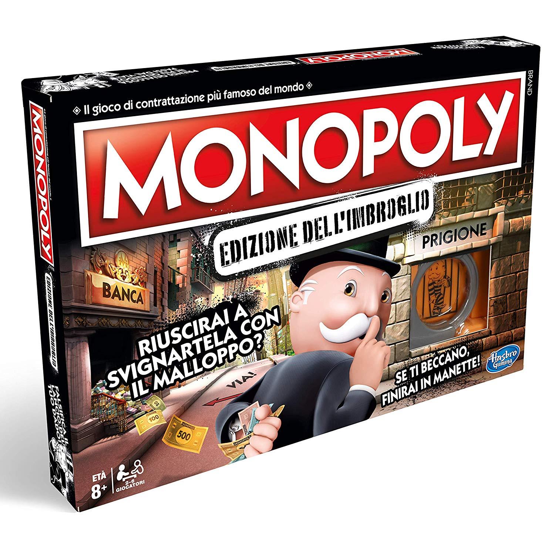 Giochi da tavolo di Natale Monopoly Edizione dell'Imbroglio