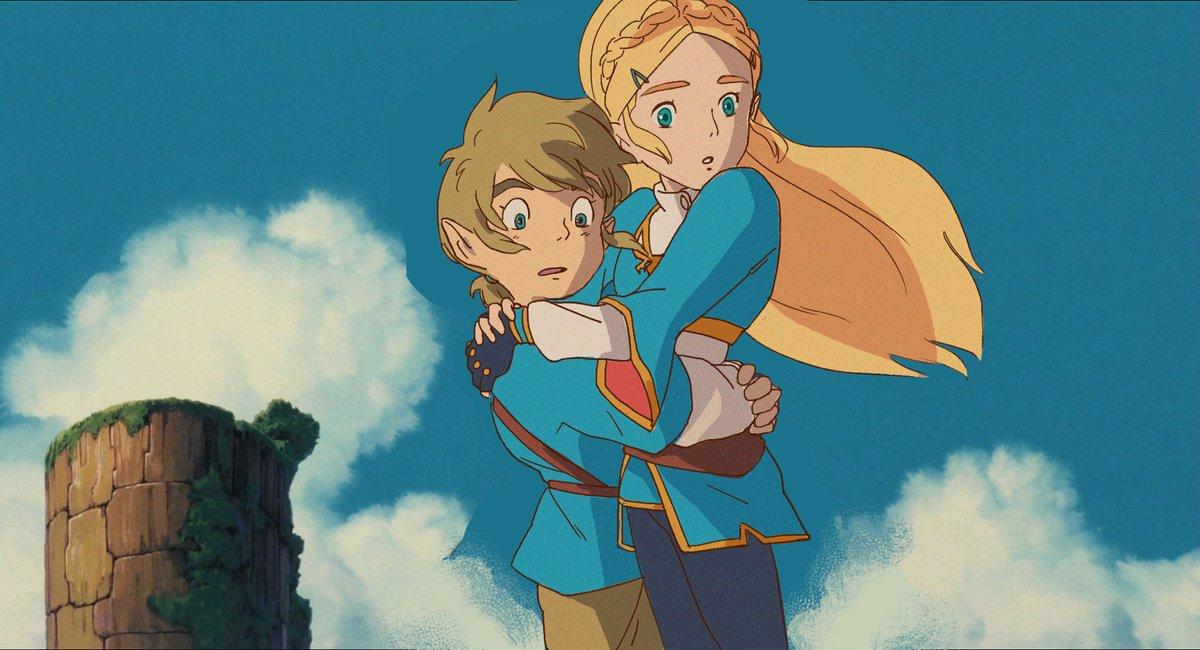 The legend of zelda studio Ghibli
