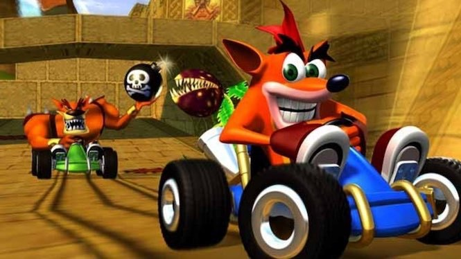 Crash team reacing remastered