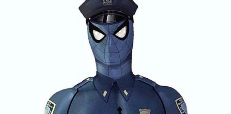 Spider-cop mervel's spider man