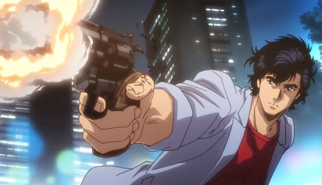 city hunter shinjuku private eyes adattamento in novel