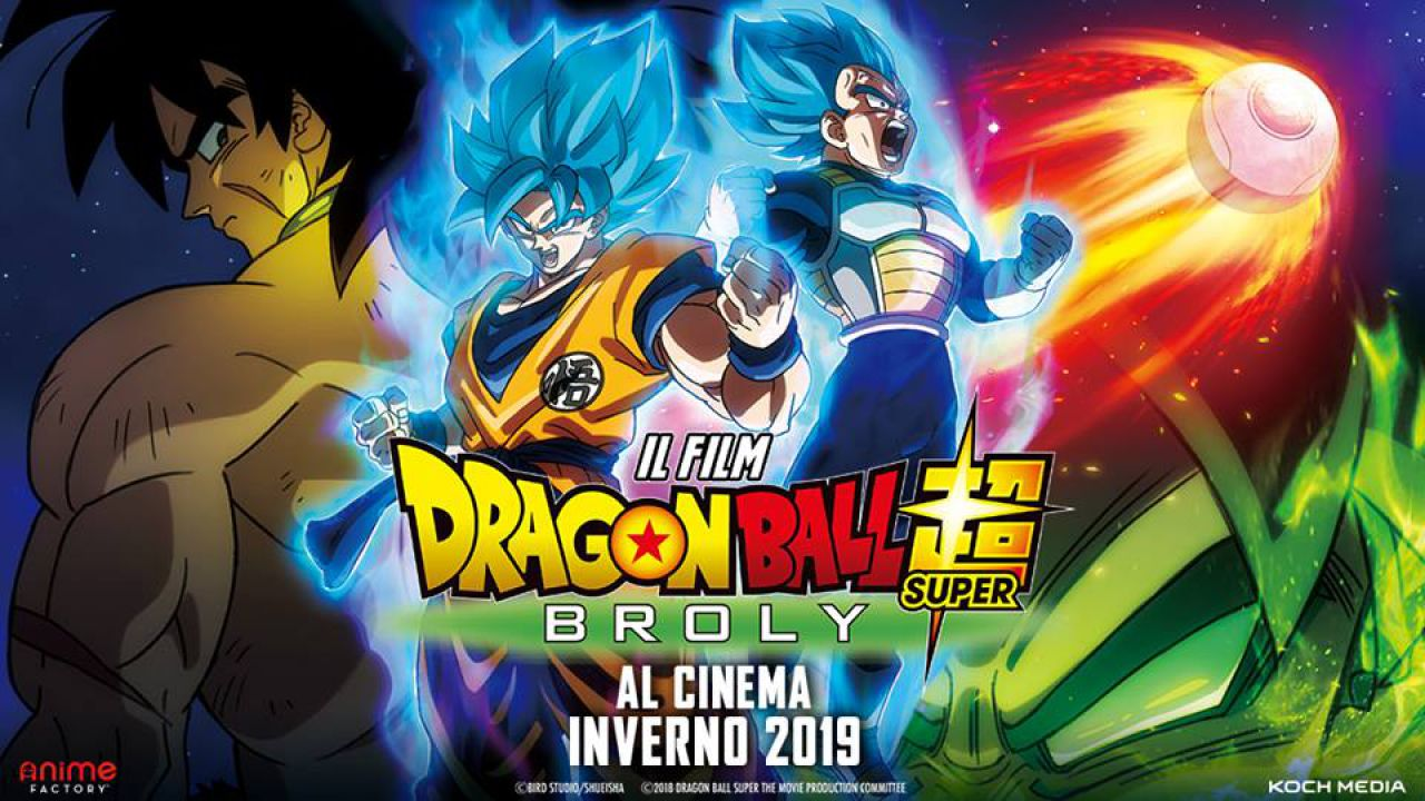 dragon ball super broly italia