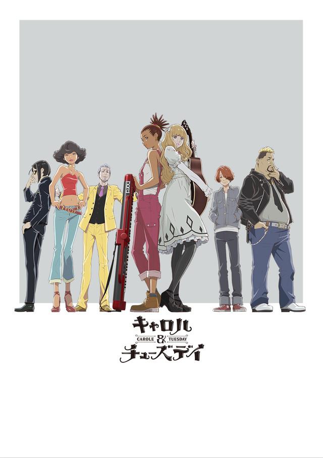 carole & tuesday anime visual