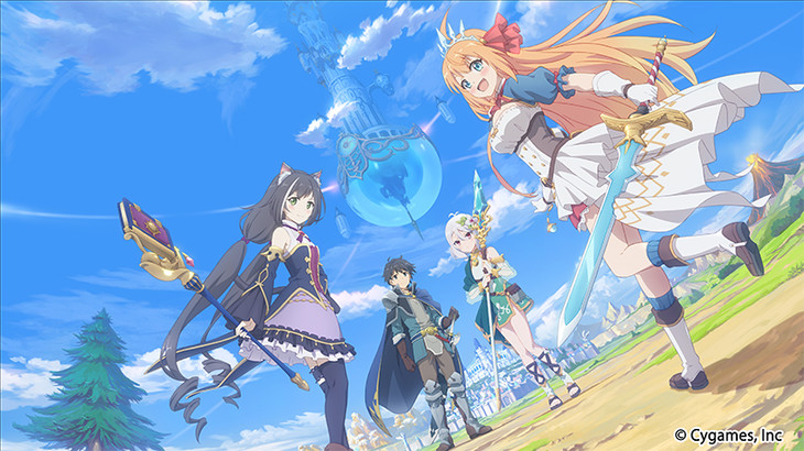 Princess Connect! Re:Dive visual anime