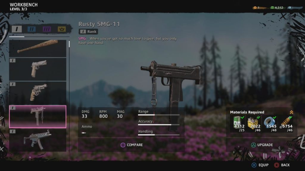 Rusty SMG-11 (Rank I)