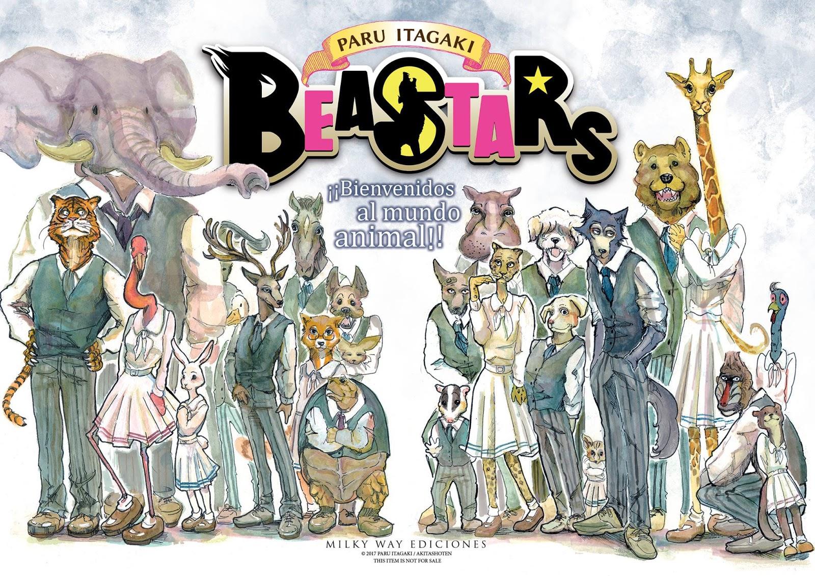 annunciato anime beastars