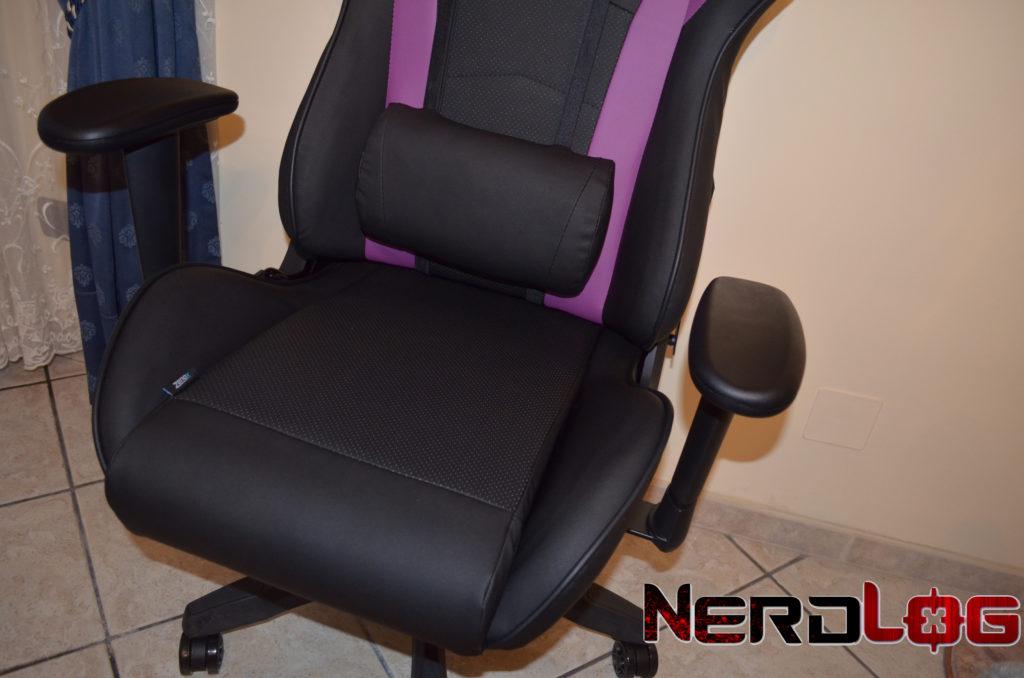 sedia da gaming caliber R1 sedile