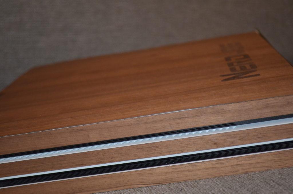 cover personalizzata in legno per ps4 pro