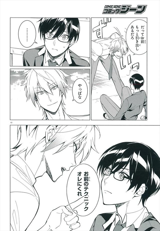 Manga Try Knights p12