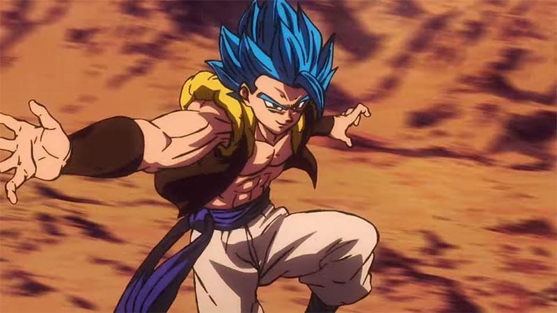 Gogeta God Dragon Ball Super