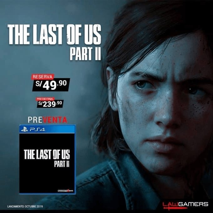 Data di uscita the last of us parte 2 poster