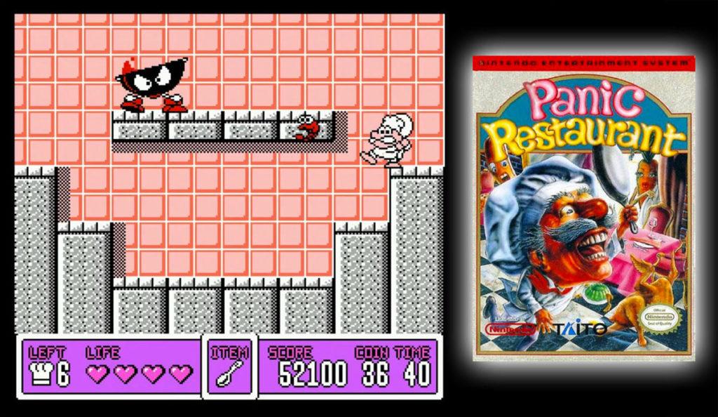 Panic Restaurant (NES)