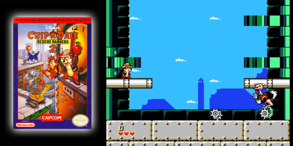 Chip 'n Dale Rescue Rangers 2 (NES)