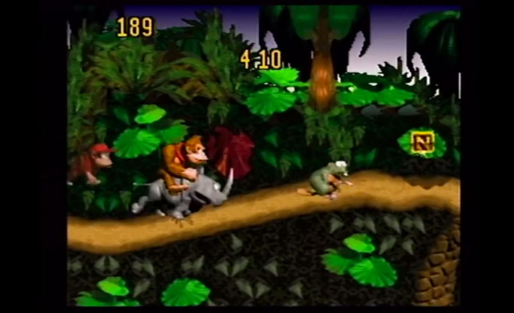 Donkey Kong Country Competition  (SNES)