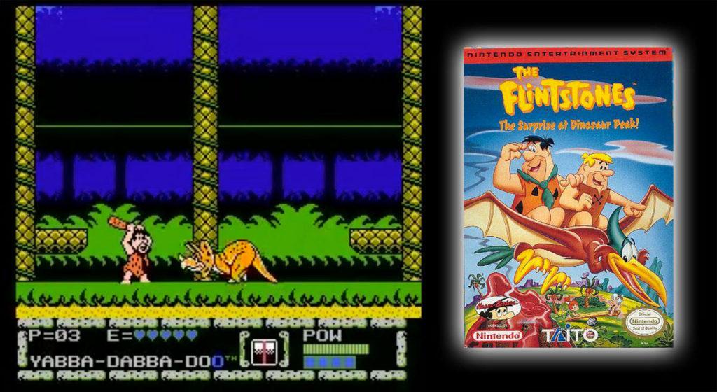 The Flintstones: The Surprise at Dinosaur Peak! (NES)