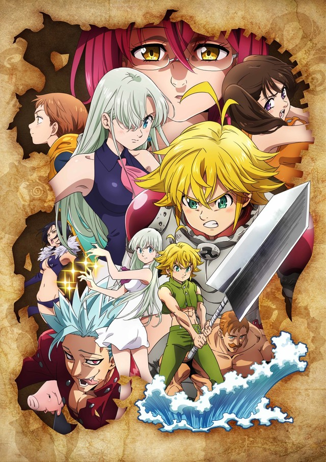 The Seven Deadly Sins: Kamigami no Gekirin visual