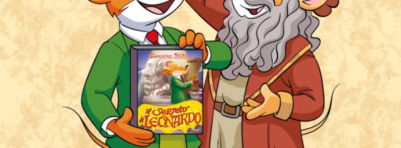 Geronimo Stilton racconta Leonardo Da Vinci a 500 anni dalla sua scomparsa