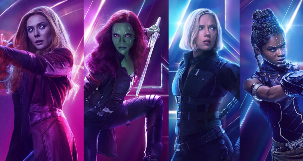 Avengers Girl power