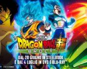 Dragon Ball Super: Broly, steelbook più venduto della settimana