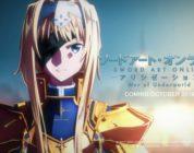Video promo per Sword Art Online Alicization War of Underworld