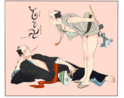 Il manga BL Momo to Manji ispira stampe Ukiyo-e