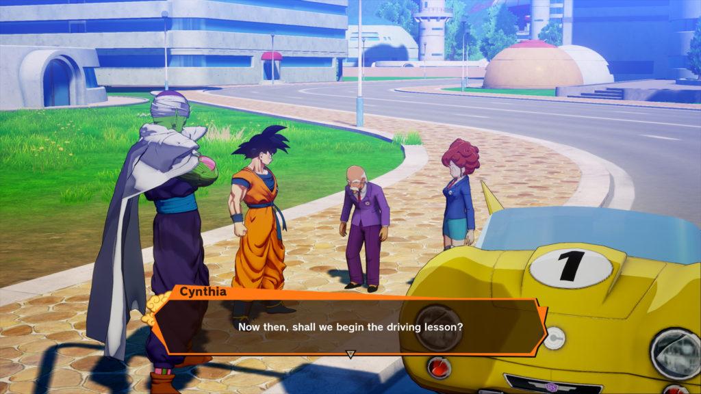 Dragon Ball Z : Kakarot gameplay