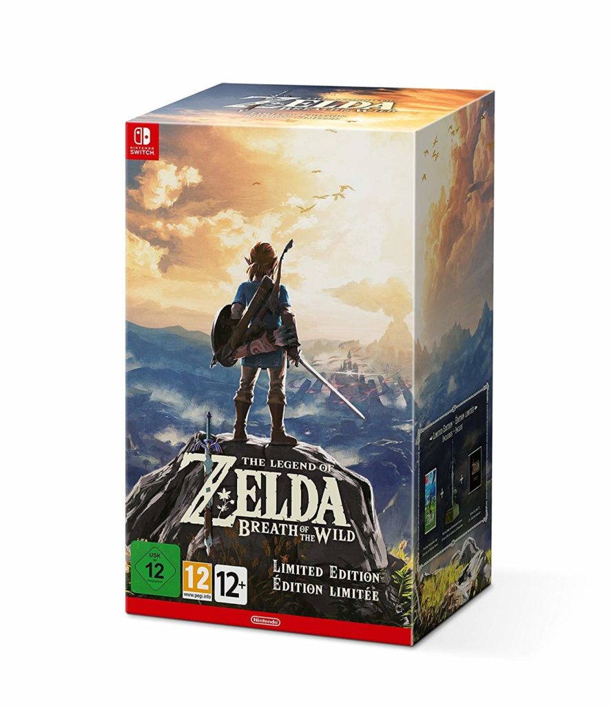 Edizione Limitata di The Legend of Zelda Breath of The Wild