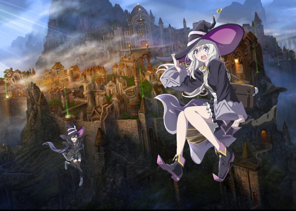 Wandering Witch anime