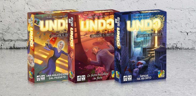 Undo – la serie di giochi in anteprima al Lucca Comics & Games
