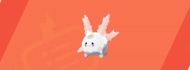 Corsola Pokemon scudo