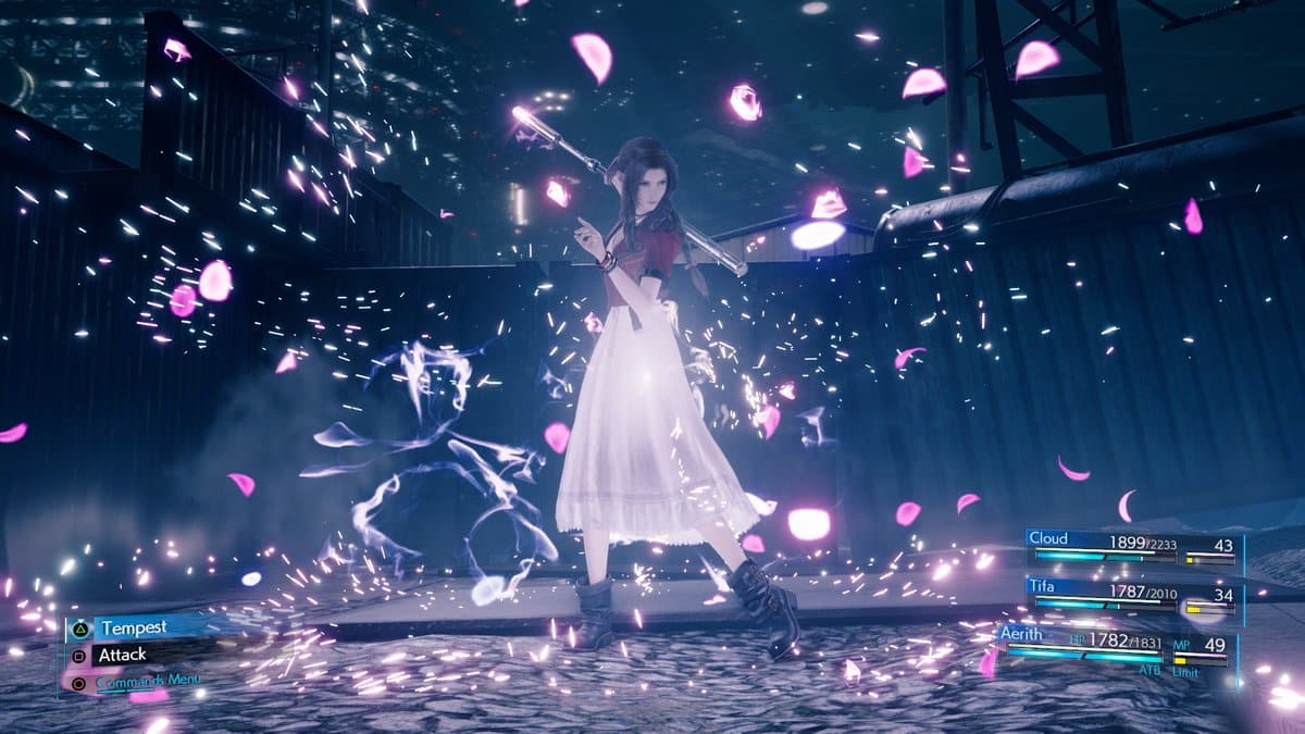 Aerith final fantasy 7 Remake