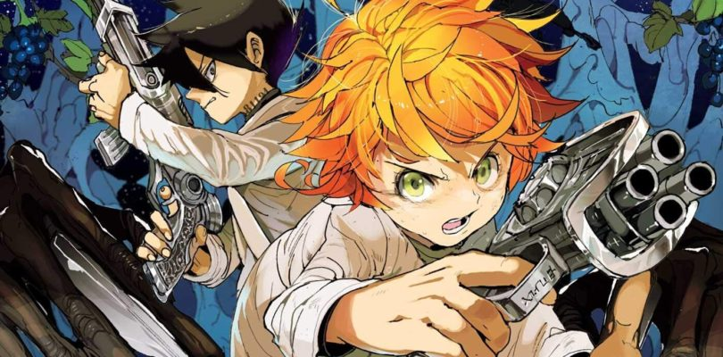 Manga The promised neverland in pausa