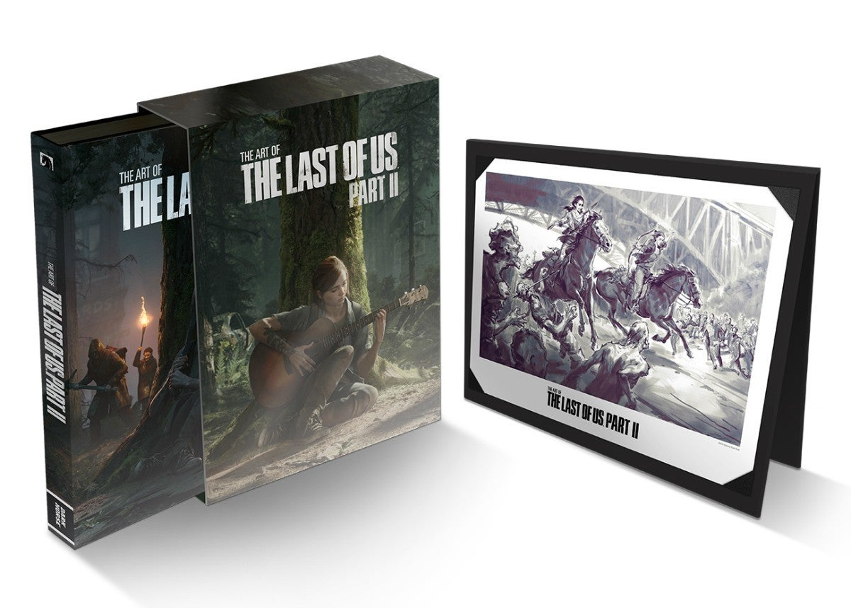 Artbook the last of us parte 2