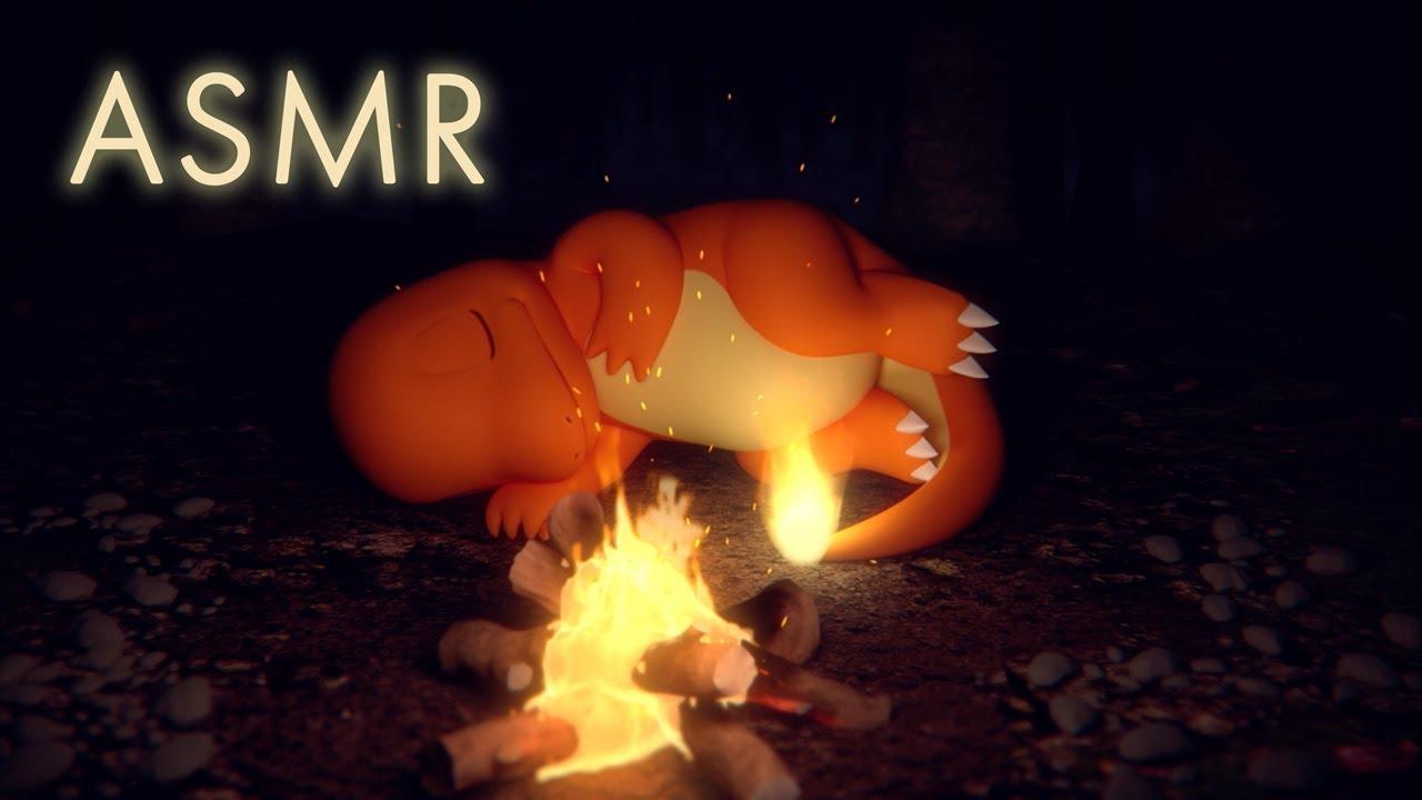 Video ASMR Charmander