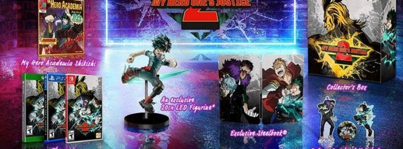 Collector edition my hero one justice 2