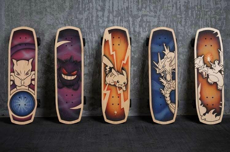 skateboard pokemon