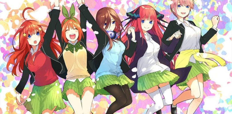 Enako si trasforma nelle 5 gemelle The Quintessentials Quintuplets