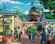 Prime illustrazioni per il Parco Ghibli
