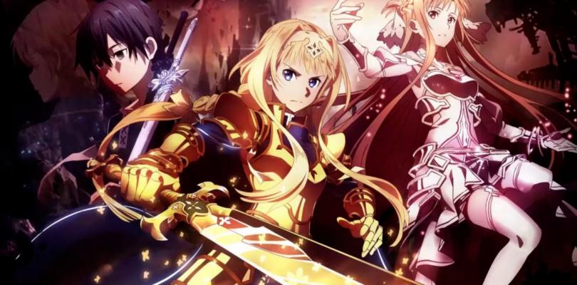 Data di uscita per gli ultimi episodi di sword art online alicization