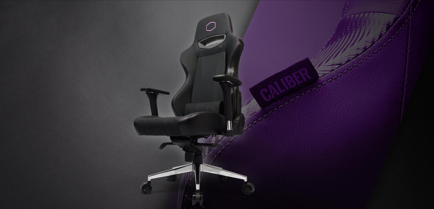 Nuova sedia da Gaming di Cooler Master Caliber X1 ~ NerdLog.it