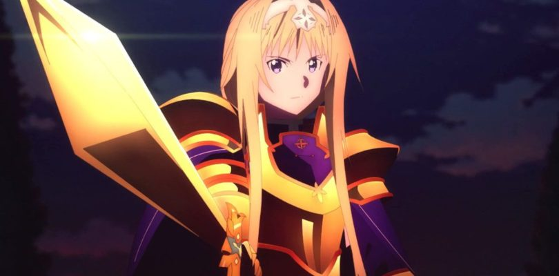 Trailer per l'ultima parte di Sword Art Online Alicization