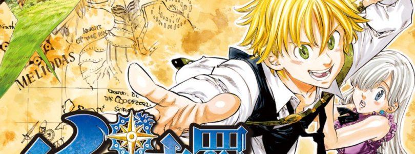 Fine del manga The seven deadly sins