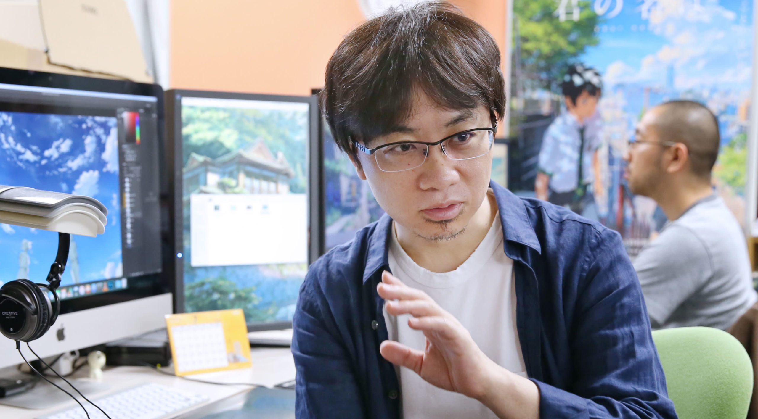 Makoto Shinkai pensa al prossimo lavoro