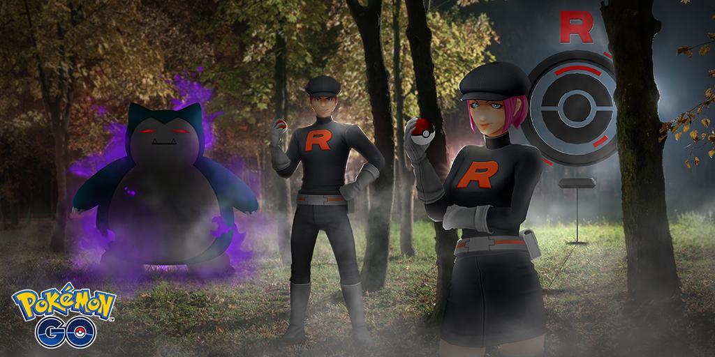 Team Go Rocket rafforza i Pokemon ombra