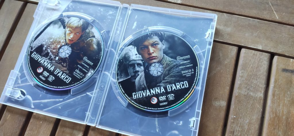 DVD Giovanna D'arco