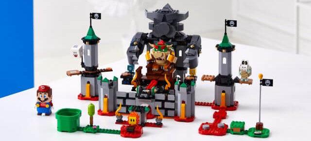 Bowser's Castle Boss Battle Expansion Set di Super mario Adventures